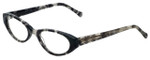 Judith Leiber Designer Eyeglasses JL3013-01 in Onyx 50mm :: Rx Single Vision