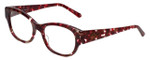 Judith Leiber Designer Eyeglasses JL3011-06 in Ruby 52mm :: Progressive