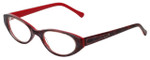 Judith Leiber Designer Eyeglasses JL3013-06 in Ruby 50mm :: Progressive