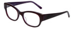 Judith Leiber Designer Eyeglasses JL3011-07 in Amethyst 52mm :: Rx Bi-Focal