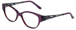 Judith Leiber Designer Reading Glasses JL3010-07 in Amethyst 52mm