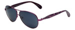 Betsey Johnson Designer Sunglasses Betseyville BV101-07 in Violet with Grey Lens
