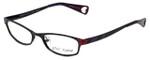 Betsey Johnson Designer Eyeglasses Starlight BJ019-01 in Black 52mm :: Custom Left & Right Lens