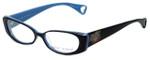 Betsey Johnson Designer Eyeglasses Heart-Throb BJ021-01 in Black 52mm :: Custom Left & Right Lens