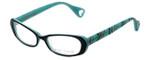 Betsey Johnson Designer Eyeglasses Untamed BJ085-01 in Black 52mm :: Custom Left & Right Lens