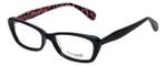 Betsey Johnson Designer Eyeglasses Betseyville BV100-01 in Black 53mm :: Custom Left & Right Lens