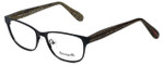 Betsey Johnson Designer Eyeglasses Betseyville BV116-01 in Black 51mm :: Rx Single Vision