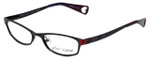 Betsey Johnson Designer Eyeglasses Starlight BJ019-01 in Black 52mm :: Rx Bi-Focal
