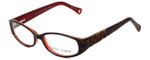 Betsey Johnson Designer Eyeglasses Cutie BJ0174-02 in Espresso 53mm :: Rx Bi-Focal