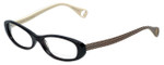 Betsey Johnson Designer Reading Glasses Tutu-Sweet BJ013-01 in Black 52mm