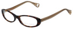 Betsey Johnson Designer Reading Glasses Tutu-Sweet BJ013-02 in Espresso 52mm