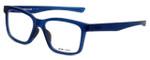 Oakley Designer Reading Glasses Fenceline OX8069-0953 in Frosted-Blue 53mm