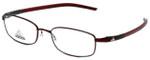 Adidas Designer Eyeglasses a623-40-6055 in Burgundy 52mm :: Custom Left & Right Lens