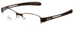 Adidas Designer Eyeglasses a882-40-6050 in Chocolate 50mm :: Custom Left & Right Lens