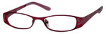 Seventeen Designer Eyeglasses 5335 in Burgundy :: Custom Left & Right Lens