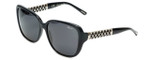 Chopard Designer Sunglasses SCH184S-0700 in Black with Grey Lens
