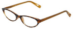 Corinne McCormack Designer Eyeglasses Roseanne in Amber  50mm :: Custom Left & Right Lens
