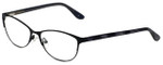 Corinne McCormack Designer Eyeglasses Park-Slope-BLK in Black 53mm :: Custom Left & Right Lens
