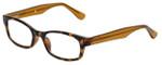 Corinne McCormack Designer Eyeglasses Channing in Amber-Tortoise 47mm :: Progressive