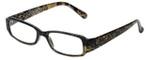 Corinne McCormack Designer Eyeglasses Libby in Gold-Snake-Skin 50mm :: Progressive