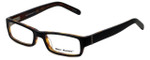 Marc Hunter Designer Eyeglasses MH7302-BKT in Matte Black/Tortoise 45mm :: Progressive