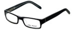 Marc Hunter Designer Eyeglasses MH7302-BKC in Matte Black/Crystal 45mm :: Rx Bi-Focal