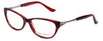 Valerie Spencer Designer Eyeglasses VS9319-BOR in Bordeaux 53mm :: Custom Left & Right Lens