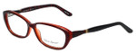Valerie Spencer Designer Eyeglasses VS9306-BUR in Burgundy 54mm :: Progressive