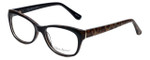 Valerie Spencer Designer Eyeglasses VS9290-BLK in Black/Leopard 52mm :: Progressive