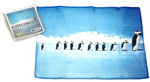 Holiday Christmas Theme Cleaning Cloth, Penguin