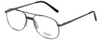 Dale Jr. Designer Reading Glasses DJ6807-SGU-57 in Satin Gun 57mm
