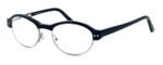 Ernest Hemingway Designer Eyeglasses H4638 in Black 50mm :: Progressive