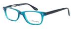 Ernest Hemingway Designer Eyeglasses H4617 (Small Size) in Teal-Black 48mm :: Progressive