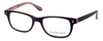 Ernest Hemingway Designer Eyeglasses H4617 in Matte-Black-Pink 52mm :: Rx Single Vision