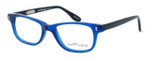 Ernest Hemingway Designer Eyeglasses H4617 in Black-Blue 52mm :: Rx Single Vision