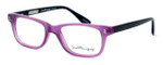 Ernest Hemingway Designer Eyeglasses H4617 (Small Size) in Purple-Black 48mm :: Rx Single Vision