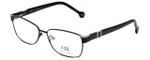 Carolina Herrera Designer Eyeglasses VHE063-0304 in Black 55mm :: Rx Single Vision