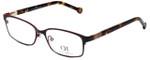 Carolina Herrera Designer Eyeglasses VHE065-0483 in Brown 53mm :: Rx Single Vision