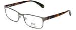 Carolina Herrera Designer Reading Glasses VHE074-0H41 in Gunmetal Tortoise 56mm