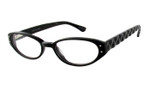 Eddie Bauer Designer Reading Glasses EB8218 in Black 47mm