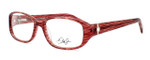 Dale Earnhardt, Jr. Designer Eyeglasses DJ6749 in Burgundy 55mm :: Custom Left & Right Lens