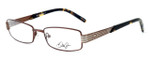 Dale Earnhardt, Jr. Designer Eyeglasses DJ6737 in Brown 52mm :: Rx Single Vision