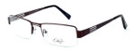 Dale Earnhardt, Jr. Designer Eyeglasses DJ6795 in Satin-Brown 55mm :: Rx Single Vision