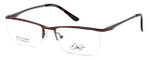 Dale Earnhardt, Jr. Designer Eyeglasses DJ6917 in Brown 52mm :: Rx Single Vision