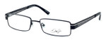 Dale Earnhardt, Jr. Designer Eyeglasses DJ6731 in Satin-Black 53mm :: Progressive