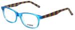 Seventeen Designer Eyeglasses SV5387-BLU in Blue 48mm :: Custom Left & Right Lens