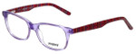 Seventeen Designer Eyeglasses SV5387-LIL in Lilac 48mm :: Custom Left & Right Lens