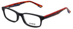 Seventeen Designer Eyeglasses SV5394-BLK in Matte Black Mix 51mm :: Custom Left & Right Lens