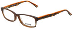 Seventeen Designer Eyeglasses SV5394-BRN in Brown 51mm :: Custom Left & Right Lens