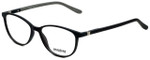 Seventeen Designer Eyeglasses SV5404-MBK in Matte Black/Grey 51mm :: Custom Left & Right Lens